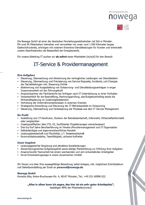 IT-Service & Providermanagement